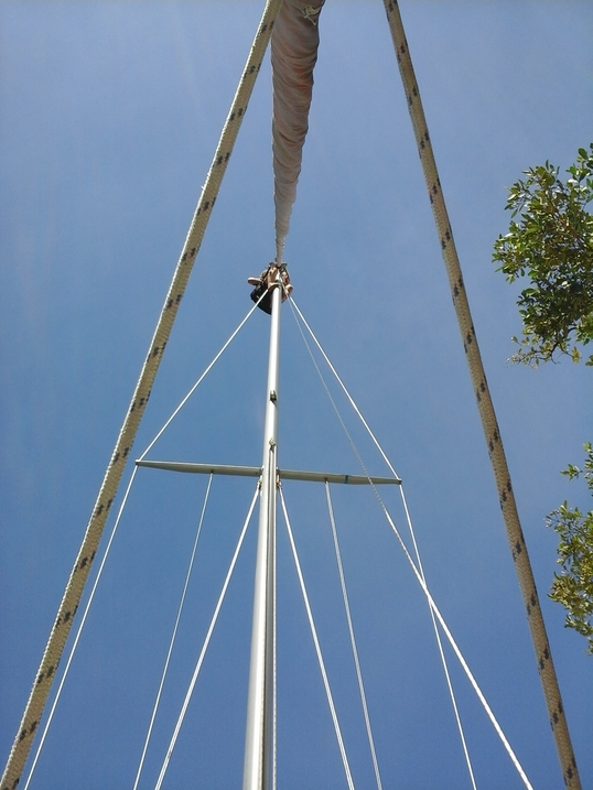 Cutting BIG Holes and Climbing Masts
