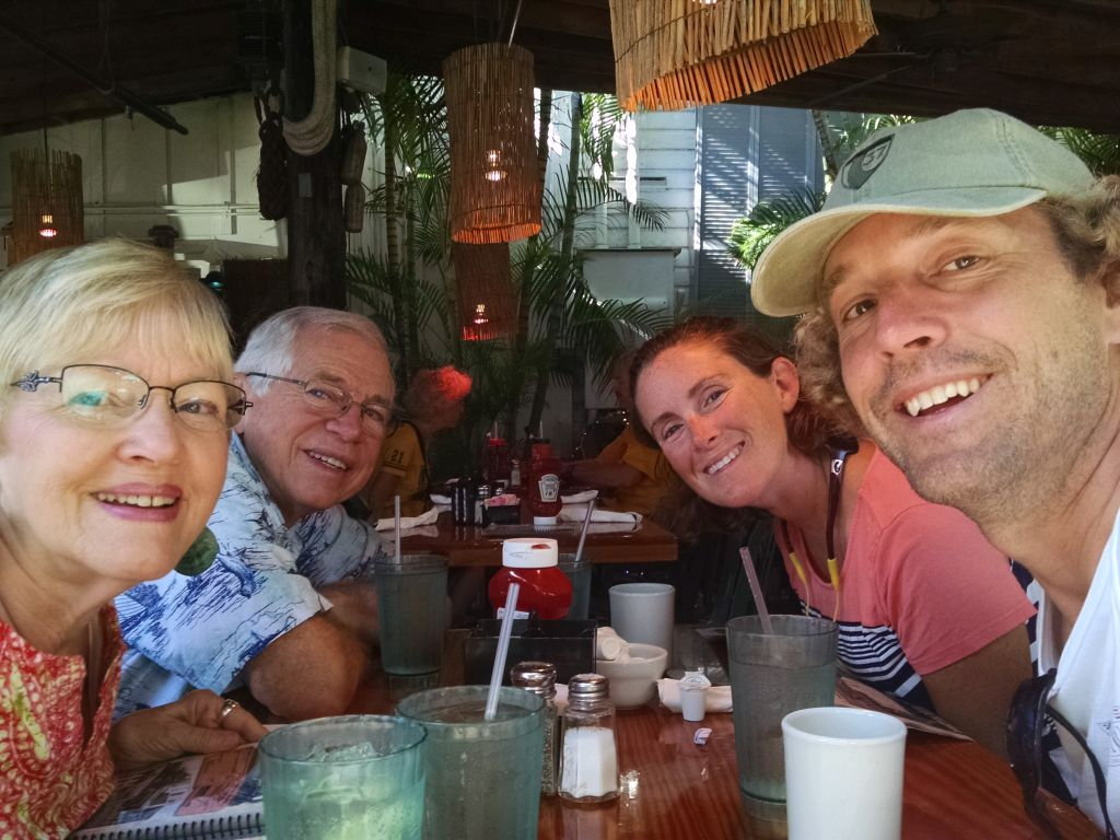 A Couple Visits from Friends and Family in Key West!