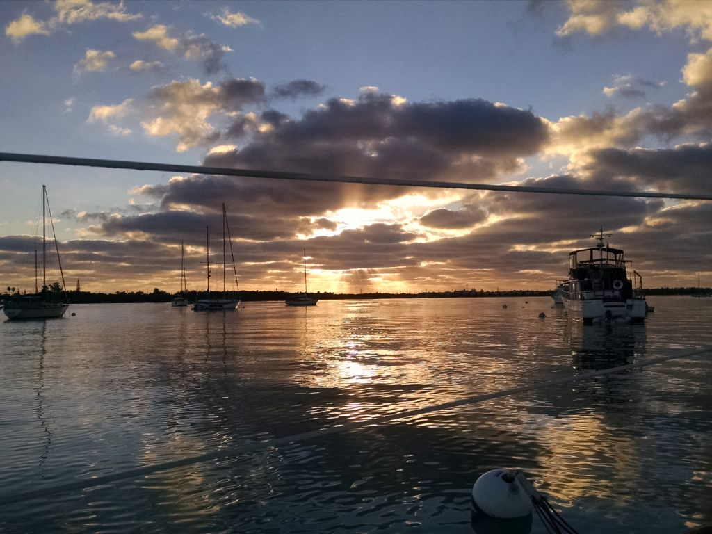 Arrival to Key West and the Mooring Field