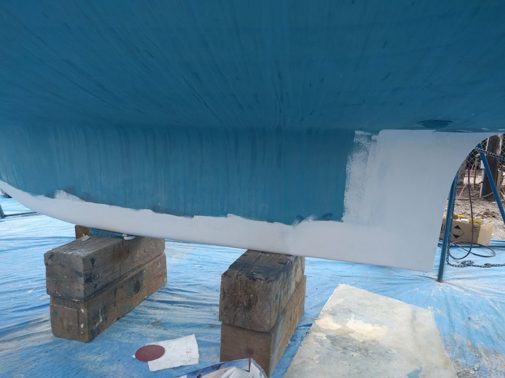 Simple Bottom Paint Job… ha! (aka: how a few weeks can turn
